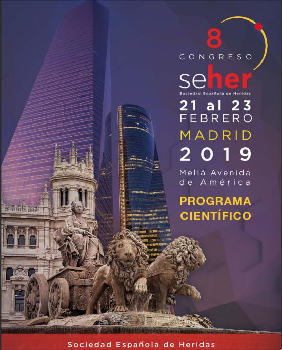 congreso de ulceras y heridas 2019 madrid