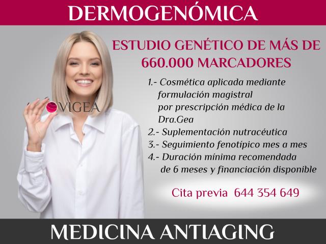 medicina estetica almeria granada antiaging dermogenomica analisis geneticos
